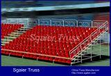 競技場のスポーツ界の一時観覧席の特別観覧席の人権擁護者は屋外の取りはずし可能立てる