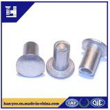 Ribattini vuoti di alluminio della frizione dell'estremità dei campioni liberi