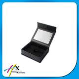 Boîte-cadeau magnétique noire faite sur commande