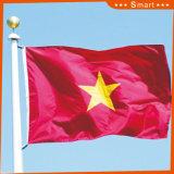 Su ordinazione impermeabilizzare e bandiera nazionale del Vietnam della bandiera nazionale di Sunproof