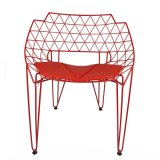 정원 가구 Oz IR1045를 위한 현대 철사 라운지용 의자