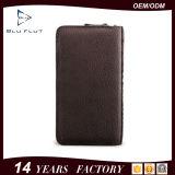 Бумажники руки пасспорта Allport неподдельной кожи логоса цены по прейскуранту завода-изготовителя изготовленный на заказ