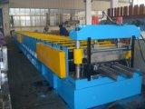 Rullo galvanizzato del piatto di Decking del pavimento della lamiera di acciaio freddo che forma macchina
