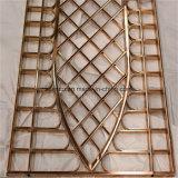 Écran décoratif de Floding en métal de maison d'acier inoxydable