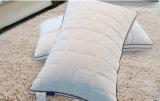 Cuscino poco costoso dell'assestamento del cotone del coperchio della nuova fabbrica di tela di lusso di stile con la casella Stiching per dormire
