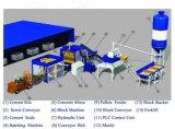 Blocs entièrement automatiques Fabrication de machine Ligne de production Béton Brique Machines industrielles Qt10-15D
