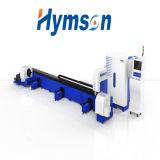 Machine de découpage précise élevée de laser de fibre de tube de Hymson