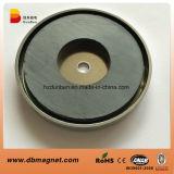 Forte magnete permanente della holding del ferrito con il coperchio del metallo