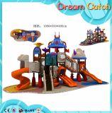 Скольжения пластмассы оборудования спортивной площадки игры малышей установленные напольные