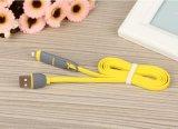 Micro bon marché et éclairage 2 en 1 câble de remplissage de caractéristiques