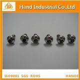 Boulon à tête creuse de tête de bouton de l'acier inoxydable ISO7380