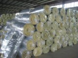 Couverture professionnelle de laines de verre avec le papier d'aluminium