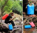 工場500d PVC昇進の野外活動は乾燥した袋のバックパックを防水する