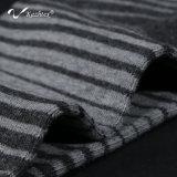 Calcetines antibacterianos del algodón de la raya con la fibra de plata para los hombres de negocios