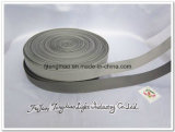 Cinghia grigia della tessitura del poliestere per i sacchetti