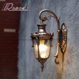 Luz impermeable al aire libre europea de la pared del producto popular para el chalet