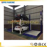 Стоянка автомобилей автомобиля 4 штендеров автоматическая поднимает подъем гаража Poles космосов стоянкы автомобилей 4 /Double