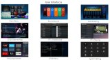 Caixa Android baseada Android da tevê da plataforma DVB S2+T2/Isdbt de Mickyhop