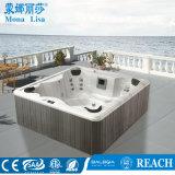 Monalisa 4-6 Pepleの屋外のアクリルの浴槽の支えがないジャクージM-3322