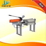 Kleine Laborplatten-und Rahmen-Filterpresse