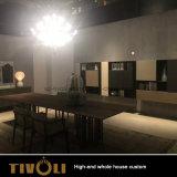Moderner Entwurfs-Glanz Lacuqer Farbanstrich-Küche-Schrank-volles Haus-Ausgangsmöbel Tivo-017VW