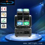 소형 LED 당 빛 DMX512 7PCS LEDs RGBW 4in1 7PCS 10W LED 소형 세척 이동하는 헤드