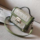 Sac d'épaule chaud de Madame Fashion Box Handbag Straw de type pour les femmes T118