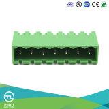 Conector de cabeçalho de PCB de ângulo recto de 8 pinos Utl