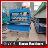 Toit de tôle en acier trapézoïdal machine à profiler à froid
