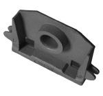 Chassis-Herstellersg-Eisen-Gussteile mit dem Sand-Starten