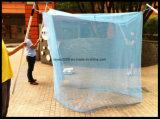 우수한 자연적인 냉담한 직사각형 모기장 침대 사각을 중단하는 곤충