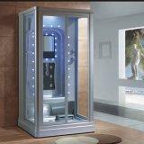 1200mm Mini Rectángulo Sauna de vapor gris con ducha para 2 personas (AT-0220)
