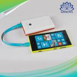 ブレスレットの平らな様式携帯電話のためのマイクロUSBの携帯用充満データケーブル