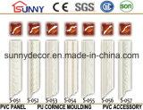 Cornisa de la PU del fabricante del poliuretano de China que moldea que moldea para la decoración casera