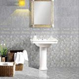 azulejo de cerámica de la pared del cuarto de baño de la inyección de tinta del gris de 300X600m m