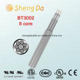Bt3002-8 Kabel van de Isolatie van de kern de Grijze Coaxiale Digitale