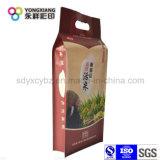 De aangepaste Plastic Verpakkende Zak van de Rijst met het Materiaal van de Rang van het Voedsel