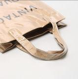 Duoble-Plattform freie Fertigkeit-Papier-Einkaufstasche mit wasserdichtem Kurbelgehäuse-Belüftung, Buch-Beutel