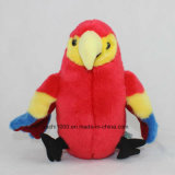 Uccello farcito variopinto della peluche del giocattolo