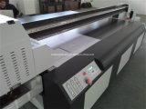 Kundenspezifisches Leder/Gewebe sackt UVled-Flachbett-Drucker ein