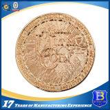 Выдвиженческая глянцеватая монетка сувенира годовщины золота (Ele-C217)