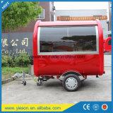 Rimorchio mobile veloce della cucina dell'alimento personalizzato fornitore di Yieson con Ce