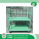 Gabbia verde chiaro di memoria del metallo per il magazzino con Ce (FL-83)