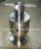 Válvula de escape sanitaria del aire de la abrazadera de la fermentadora del acero inoxidable tri