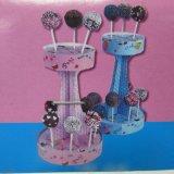 Sostenedor de papel de Cakepop para el sostenedor de la visualización de 16 Cakepops