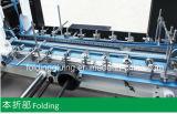 Máquina acanalada automática de Gluer de la carpeta del rectángulo con el bloqueo inferior (GK-1200/1450/1600AC)