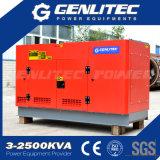 50Hz трехфазный Rated генератор дизеля силы 37.5kVA 30kw звукоизоляционный Yangdong