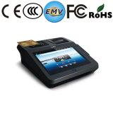 Tabuleta 7 polegadas de leitor de cartão sem contato Android do terminal RFID da posição