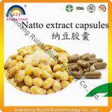 Het Uittreksel van Natto, Nattokinase Capsule, het Poeder van het Uittreksel Natto