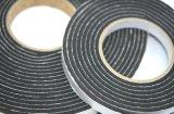 6.4mm schwarze Farbe einseitiges Belüftung-Schaumgummi-Band